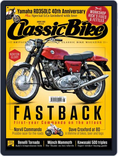 Classic Bike Magazine (Digital) August 1st, 2020 Issue Cover