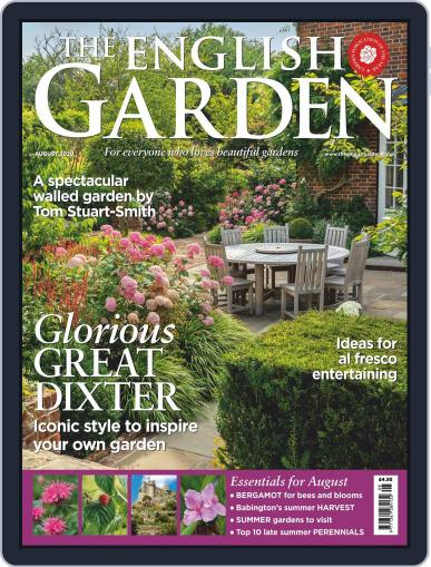 The English Garden Magazine (Digital) August 1st, 2020 Issue Cover