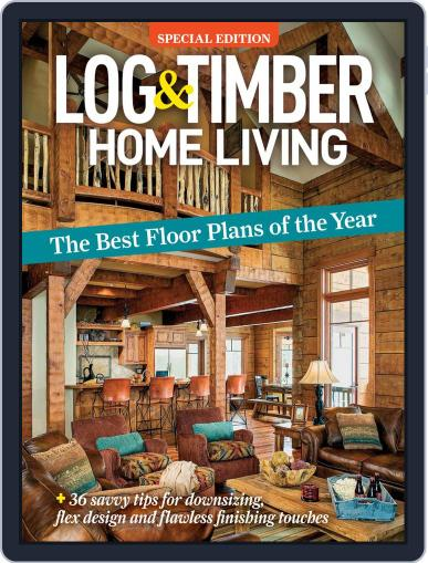 Log and Timber Home Living Magazine (Digital) July 1st, 2020 Issue Cover