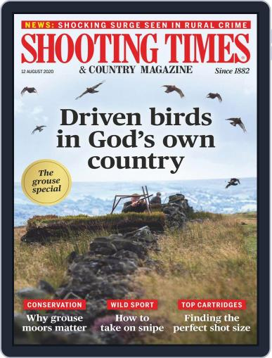 Shooting Times & Country Magazine (Digital) August 12th, 2020 Issue Cover