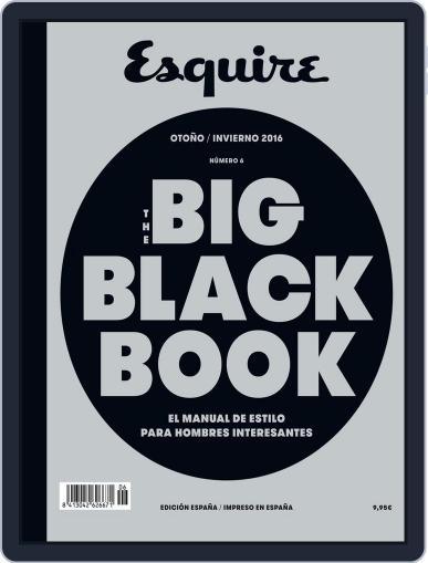 The Big Black Book-España (Digital) December 1st, 2016 Issue Cover