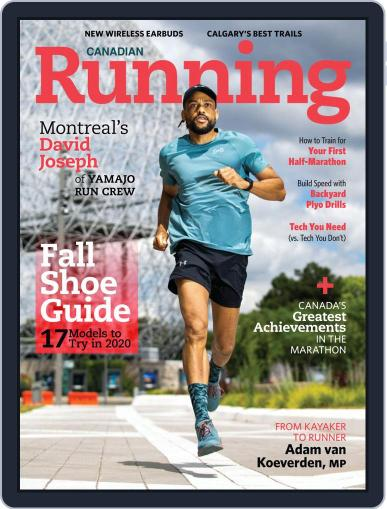 Canadian Running Magazine (Digital) September 1st, 2020 Issue Cover