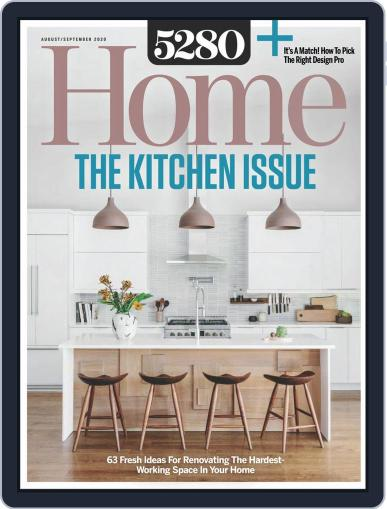 5280 Home Magazine (Digital) August 1st, 2020 Issue Cover