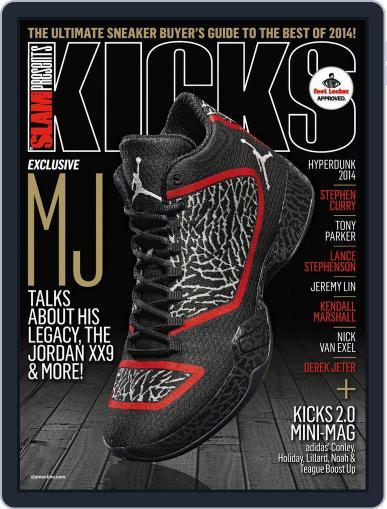 Slam's Kicks (Digital) August 22nd, 2014 Issue Cover