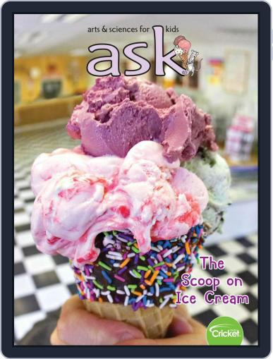 Ask Science And Arts Magazine For Kids And Children Magazine (Digital) July 1st, 2020 Issue Cover