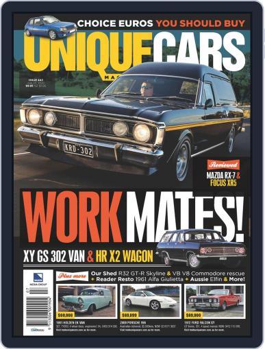 Unique Cars Australia Magazine (Digital) July 15th, 2020 Issue Cover