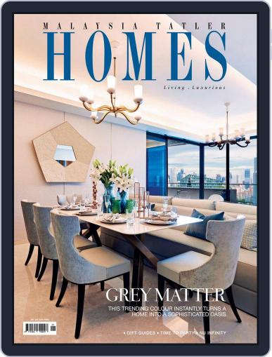 Malaysia Tatler Homes (Digital) December 1st, 2017 Issue Cover