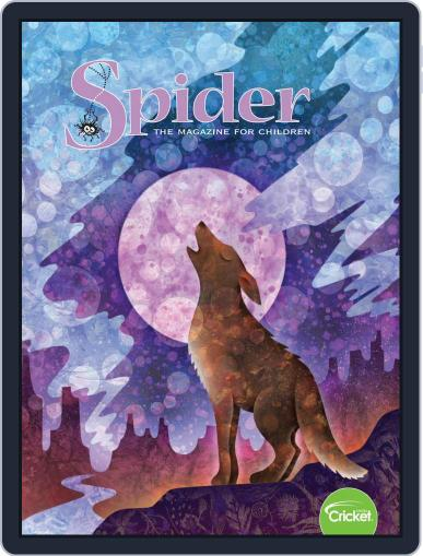 Spider Magazine Stories, Games, Activites And Puzzles For Children And Kids Magazine (Digital) July 1st, 2020 Issue Cover