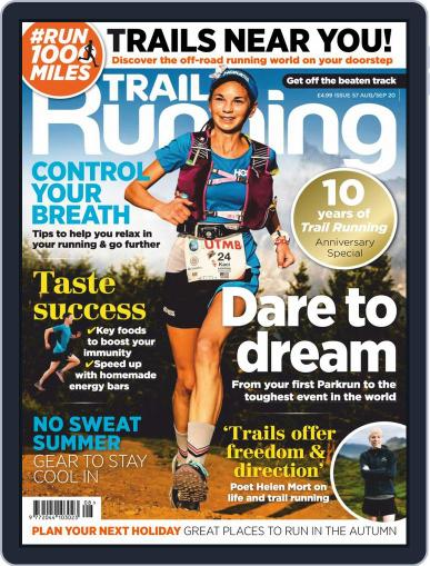 Trail Running Magazine (Digital) August 1st, 2020 Issue Cover