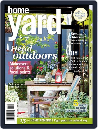 Home Yard Magazine (Digital) July 28th, 2015 Issue Cover