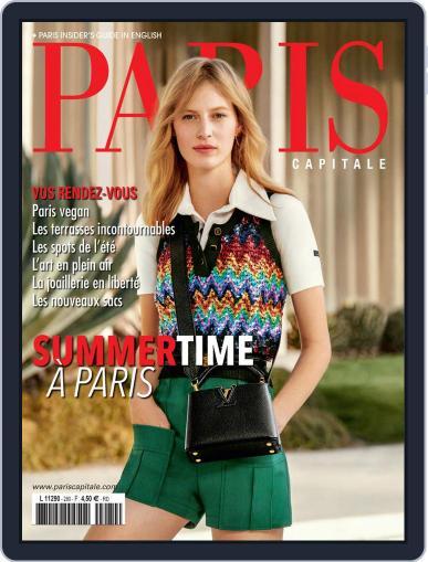 Paris Capitale Magazine (Digital) June 1st, 2020 Issue Cover