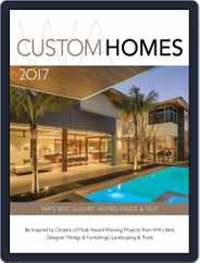 WA CUSTOM HOMES Magazine (Digital) Subscription January 1st, 2017 Issue