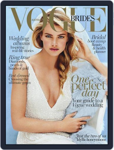 Vogue Australia Brides Magazine (Digital) June 7th, 2015 Issue Cover