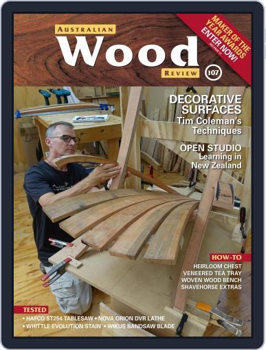 Australian Wood Review Magazine (Digital) June 1st, 2020 Issue Cover