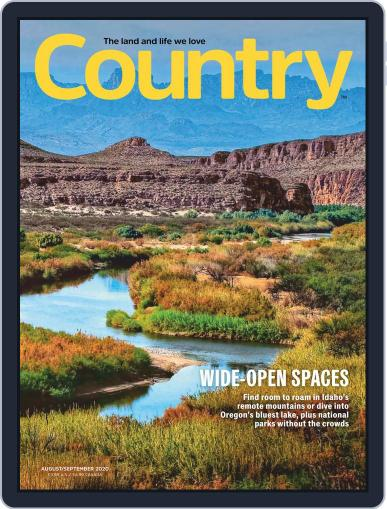Country Magazine (Digital) August 1st, 2020 Issue Cover