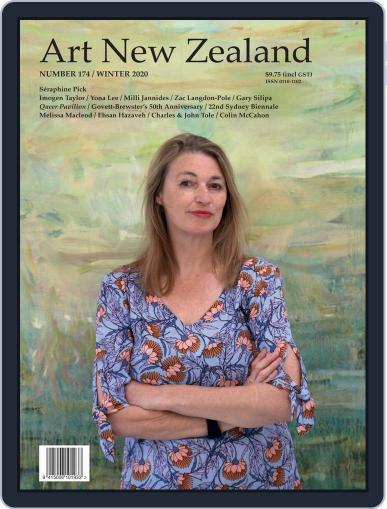 Art New Zealand Magazine (Digital) June 1st, 2020 Issue Cover