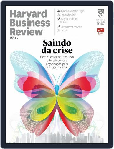 Harvard Business Review Brasil Magazine (Digital) July 1st, 2020 Issue Cover