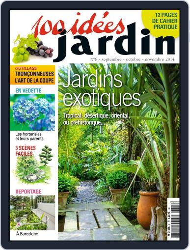 100 idées jardin (Digital) August 27th, 2014 Issue Cover