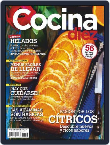 COCINA DIEZ Magazine (Digital) August 1st, 2020 Issue Cover