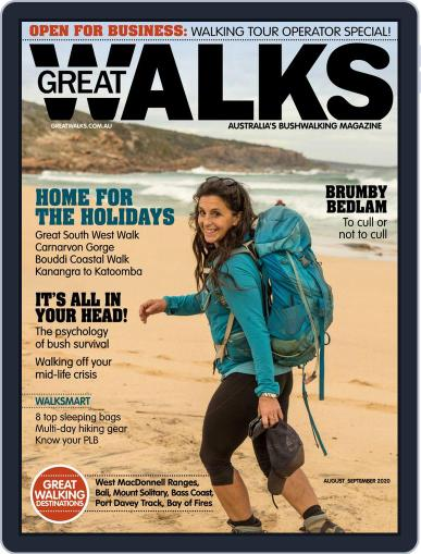 Great Walks Magazine (Digital) August 1st, 2020 Issue Cover