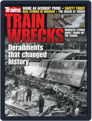 Train Wrecks (Digital) March 26th, 2012 Issue Cover