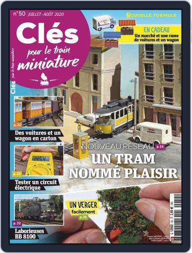 Clés pour le train miniature Magazine (Digital) July 1st, 2020 Issue Cover