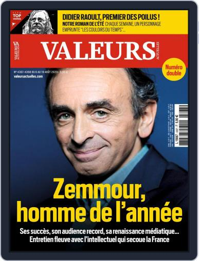Valeurs Actuelles Magazine (Digital) August 6th, 2020 Issue Cover