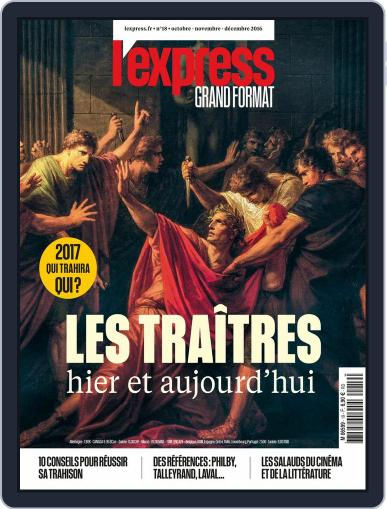 L'Express Grand Format (Digital) October 1st, 2016 Issue Cover