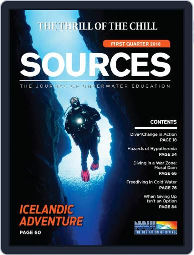 Sources (Digital) January 1st, 2018 Issue Cover