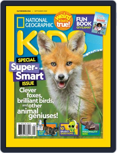 National Geographic Kids Magazine (Digital) September 1st, 2020 Issue Cover