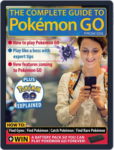 The Complete Guide to Pokémon Go Magazine (Digital) July 1st, 2016 Issue Cover