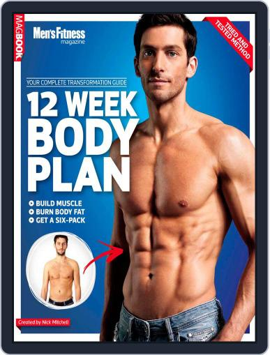 Mens Fitness The 12 Week Body Plan Magazine (Digital) January 17th, 2013 Issue Cover