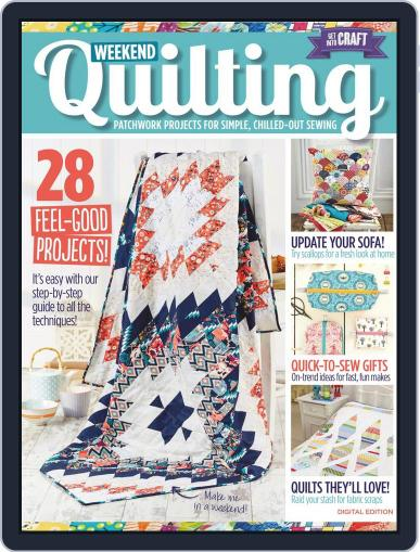 Weekend Quilting Magazine (Digital) May 1st, 2016 Issue Cover