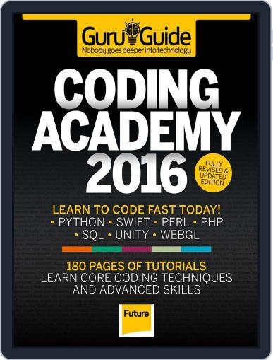 Coding Academy 2015 Magazine (Digital) May 1st, 2016 Issue Cover
