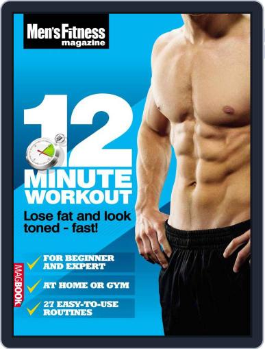 Men's Fitness 12 Minute Workout Magazine (Digital) April 13th, 2011 Issue Cover