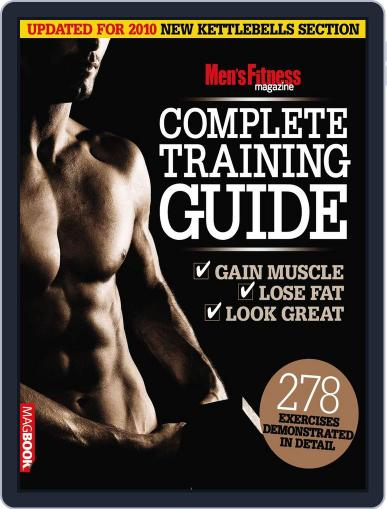 Men's Fitness Complete Training Guide 2nd edition Magazine (Digital) April 14th, 2011 Issue Cover