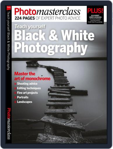 Teach yourself Black & White Photography Magazine (Digital) March 1st, 2017 Issue Cover