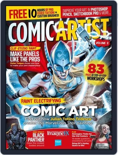 Comic Artist Volume 2 Magazine (Digital) September 1st, 2016 Issue Cover