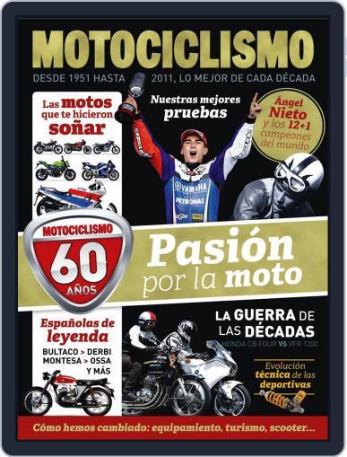 Motociclismo Especial 60 aniversario Magazine (Digital) June 21st, 2011 Issue Cover