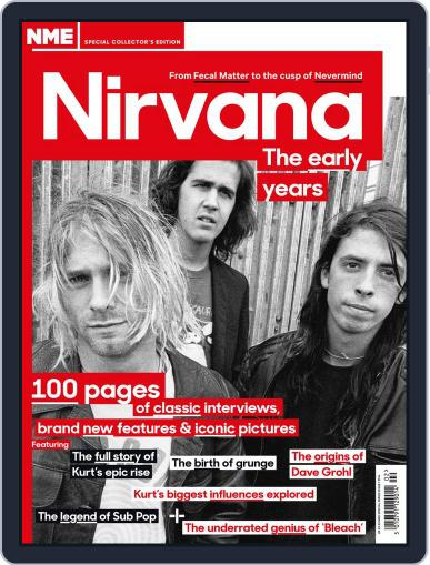 NME Special Collectors' Magazine - Nirvana Magazine (Digital) February 12th, 2014 Issue Cover