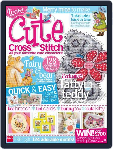 Cute Cross Stitch Magazine (Digital) March 31st, 2014 Issue Cover
