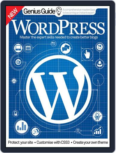 Wordpress Genius Guide Magazine (Digital) October 20th, 2016 Issue Cover