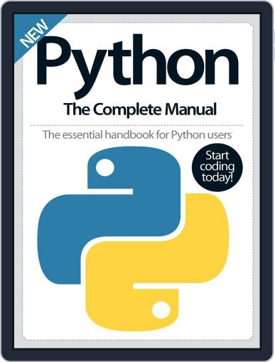 Python The Complete Manual Magazine (Digital) October 1st, 2016 Issue Cover