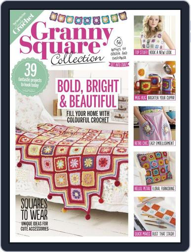 Granny Square Collection Magazine (Digital) July 1st, 2016 Issue Cover