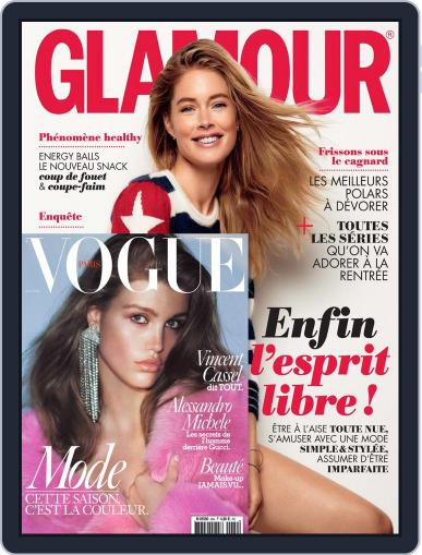 Glamour + Vogue Magazine (Digital) August 1st, 2016 Issue Cover
