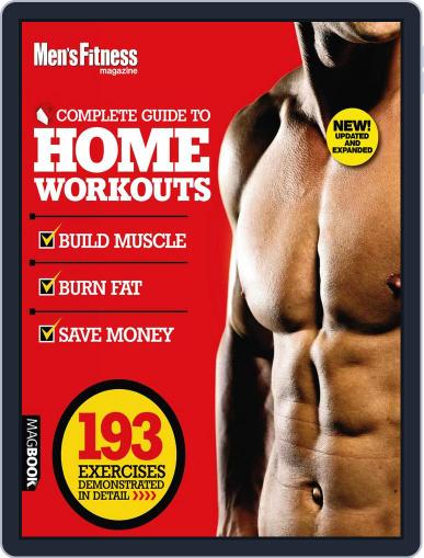 Men's Fitness Complete Guide to Home Workouts 2nd Edition Magazine (Digital) August 1st, 2011 Issue Cover