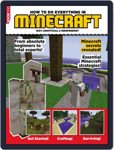 HOW TO DO EVERYTHING IN MINECRAFT Magazine (Digital) March 18th, 2014 Issue Cover