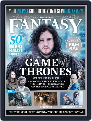 The Ultimate Guide to Fantasy Magazine (Digital) March 1st, 2016 Issue Cover