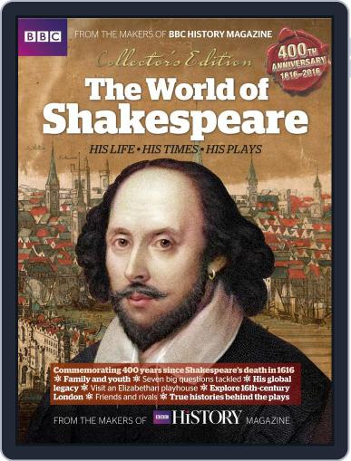 The World of Shakespeare Magazine (Digital) May 18th, 2016 Issue Cover