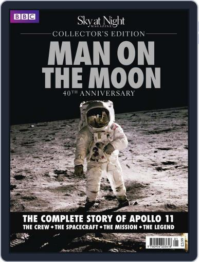 Man on The Moon Collector's Edition Magazine (Digital) September 7th, 2010 Issue Cover